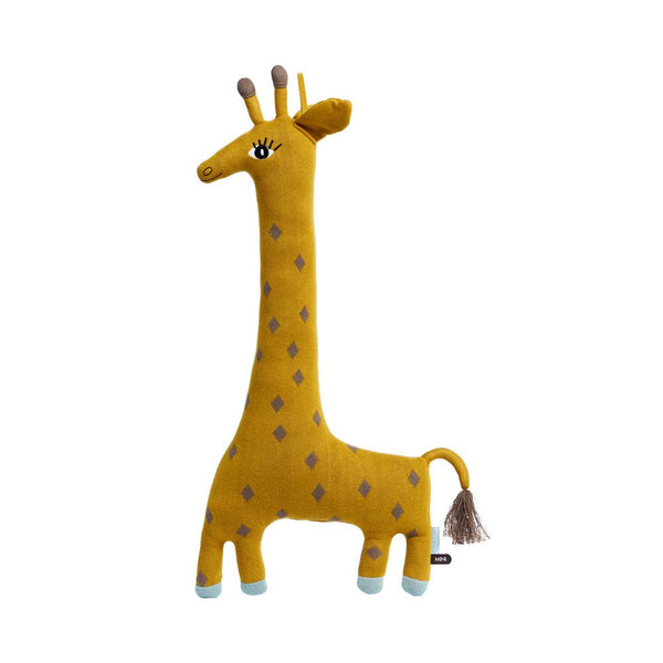 OYOY Living Design - OYOY MINI Noah Giraffe Cushion Soft Toys 804 Curry ?id=14456468111440