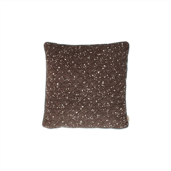 OYOY Living Design - OYOY LIVING Cushion Quilted Aya Cushion 301 Brown / Offwhite ?id=16191808962640