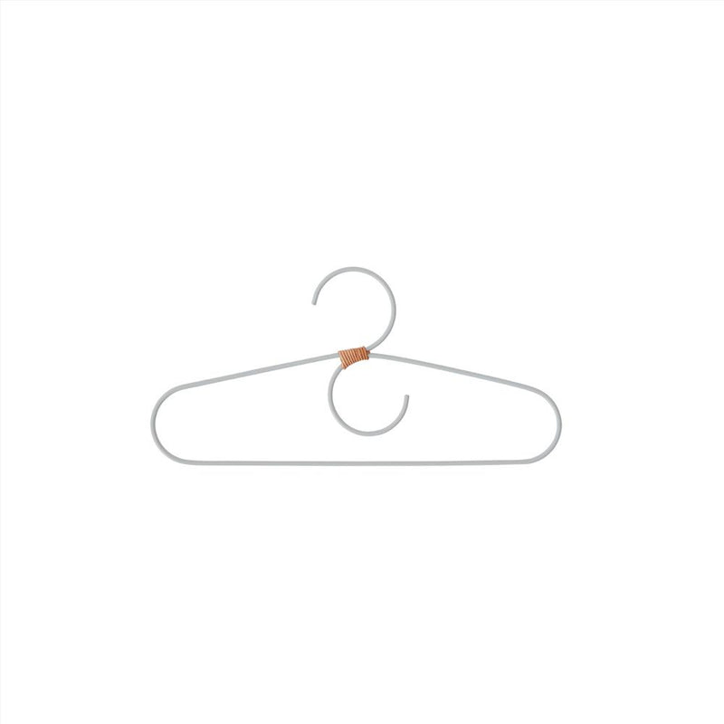 OYOY Living Design - OYOY MINI Hanger for kids - Tiny Fuku - 2 Pcs/Pack Hanger 608 Dusty Blue