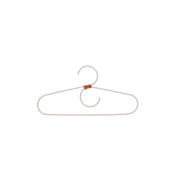 OYOY Living Design - OYOY MINI Hanger for kids - Tiny Fuku - 2 Pcs/Pack Hanger 404 Powder