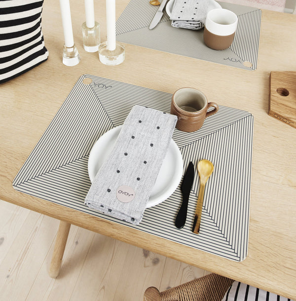 OYOY Living Design - OYOY LIVING Placemat Futo - 2 Pcs/Pack Placemat 306 Clay