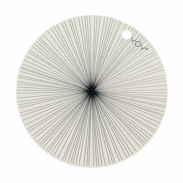 OYOY Living Design - OYOY LIVING Placemat Ray - 2 Pcs/Pack Placemat 102 Offwhite