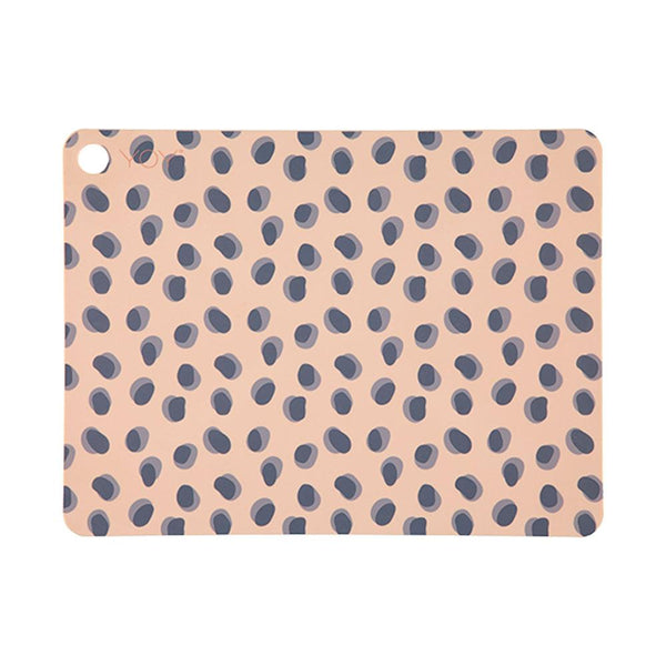 OYOY Living Design - OYOY LIVING Placemat Leopard Dots - 2 Pcs/Pack Placemat 302 Camel