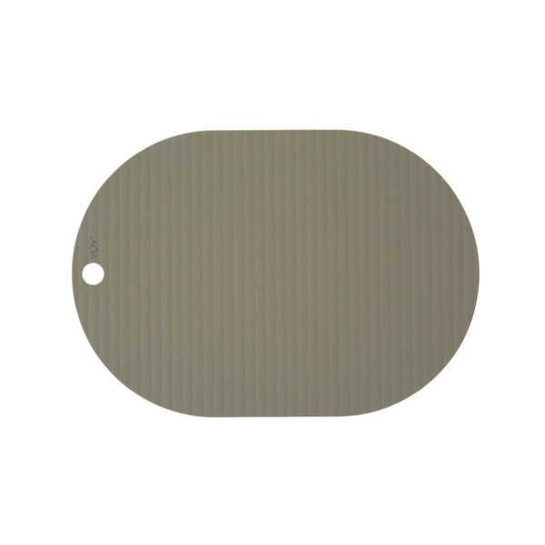 OYOY Living Design - OYOY LIVING Ribbo Placemat - 2 Pcs/Pack Placemat 706 Olive