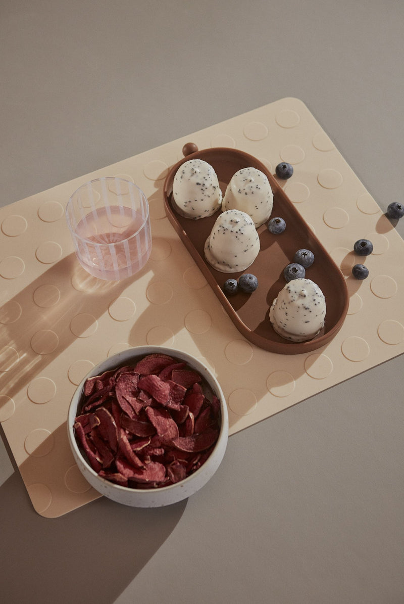 OYOY Living Design - OYOY LIVING Placemat Dotto - 2 Pcs/Pack Placemat 805 Vanilla