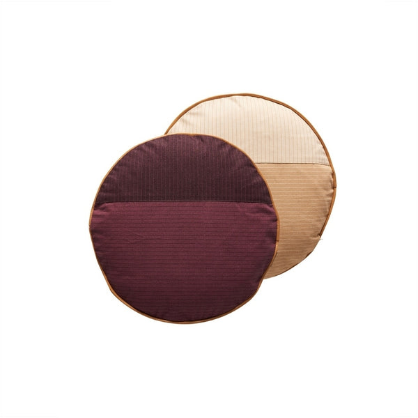 OYOY Living Design PI Cushion Cushion 406 Aubergine / Peach