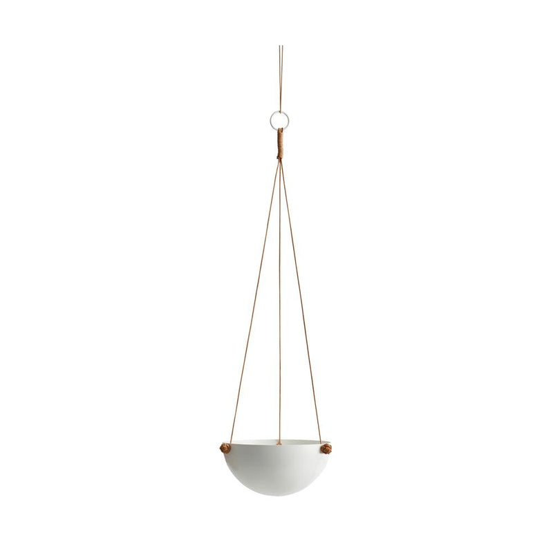 OYOY Living Design - OYOY LIVING Pif Paf Puf Hanging Storage - 1 Bowl, Small Storage 101 White