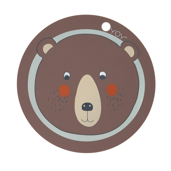 OYOY Living Design - OYOY MINI Placemat Bear Placemat 301 Brown ?id=13269669380176