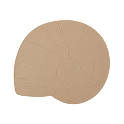 OYOY Living Design - OYOY MINI Placemat Nautilus Placemat 302 Camel ?id=16168312733776