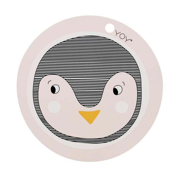 OYOY Living Design - OYOY MINI Placemat Penguin Placemat 402 Rose ?id=13270333522000