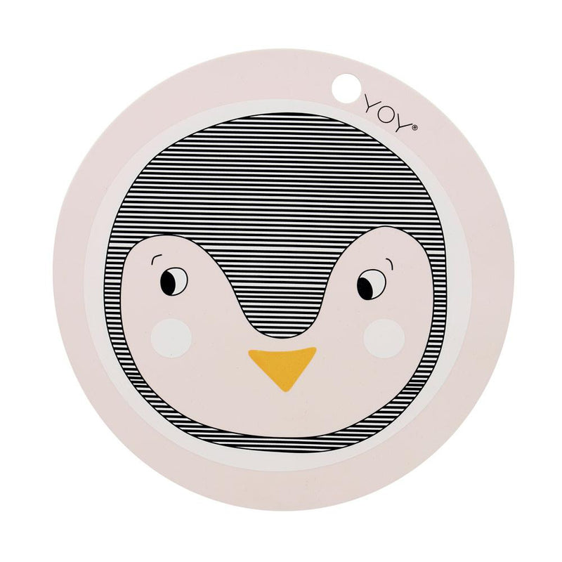 OYOY Living Design - OYOY MINI Placemat Penguin Placemat 402 Rose