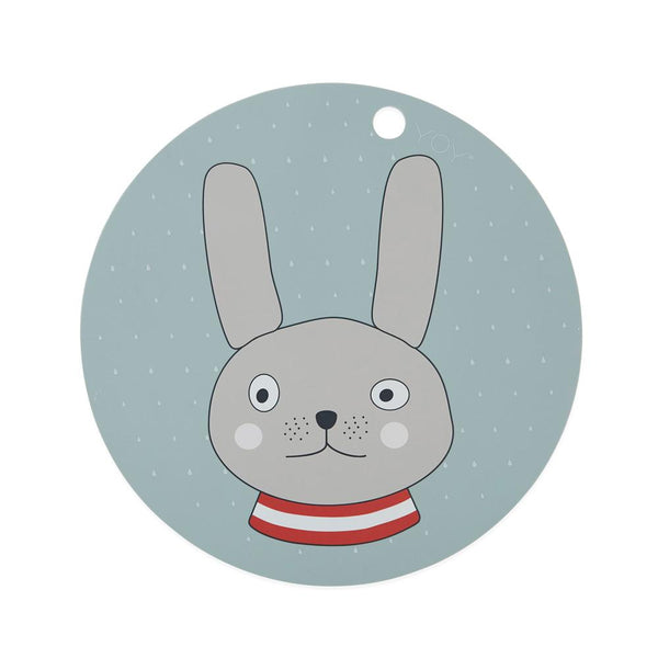 OYOY Living Design - OYOY MINI Placemat Rabbit Placemat 705 Minty ?id=13270681616464