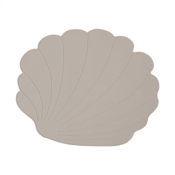 OYOY Living Design - OYOY MINI Placemat Seashell Placemat 306 Clay ?id=16168589918288