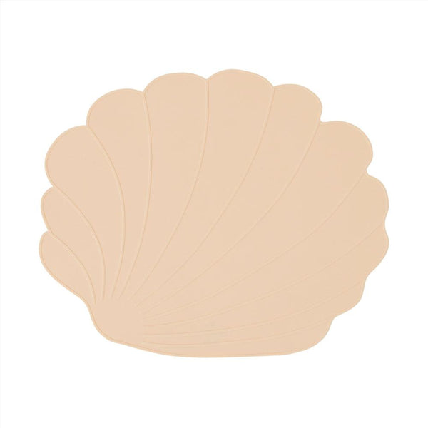 OYOY Living Design - OYOY MINI Placemat Seashell Placemat 805 Vanilla ?id=16168602239056