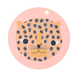 OYOY Living Design - OYOY MINI Placemat Snow Leopard Placemat 408 Coral