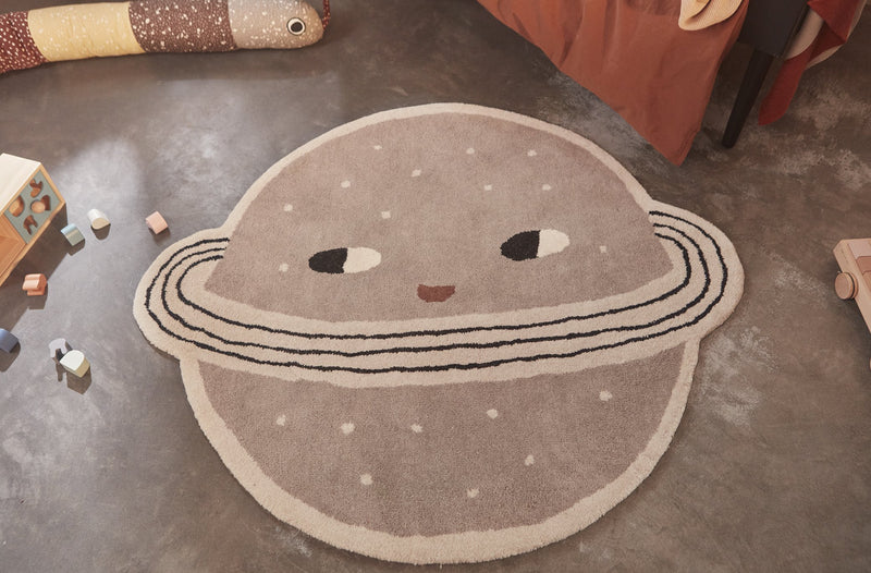 Planet Rug - Clay