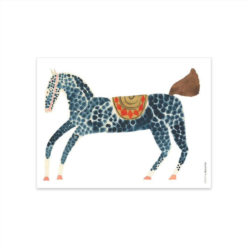 OYOY Living Design - OYOY LIVING Poster 30x40 - Pelle Pony Poster 908 Multi ?id=16168381349968