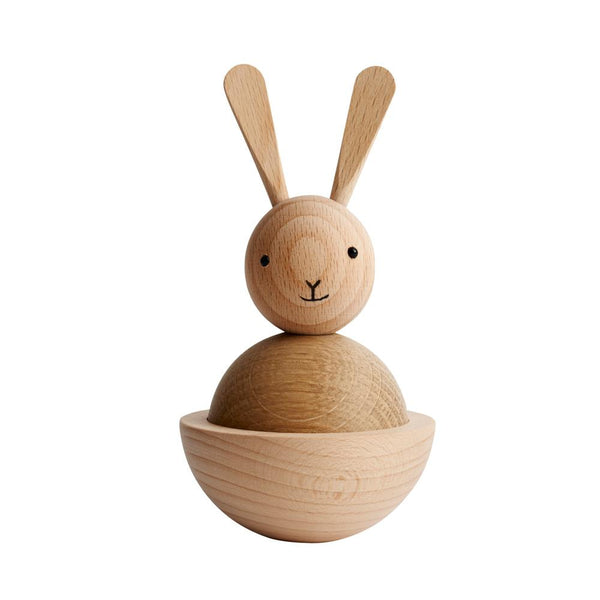 OYOY Living Design - OYOY LIVING Rabbit Nature Wooden Animal 901 Nature