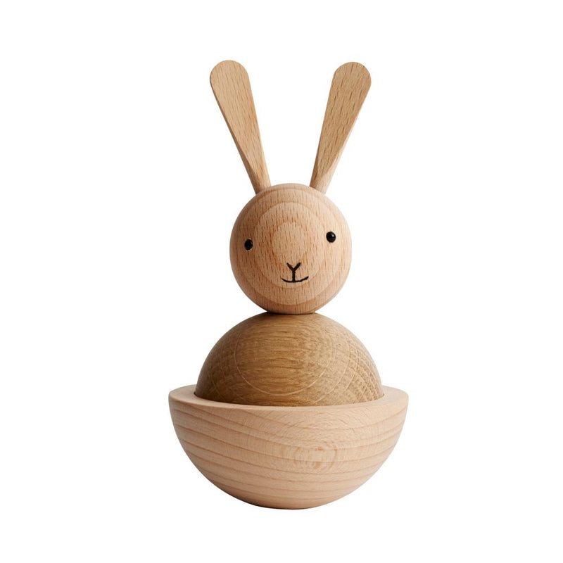 OYOY Living Design - OYOY LIVING Rabbit Nature Wooden Animal 901 Nature ?id=13122658795600
