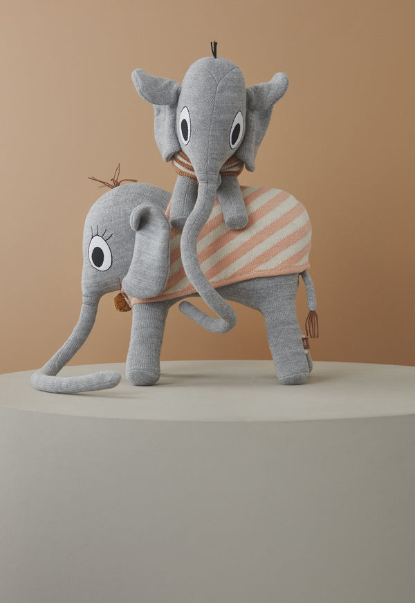 OYOY Living Design - OYOY MINI Ramboline Elephant Soft Toys 203 Grey ?id=17048365072464