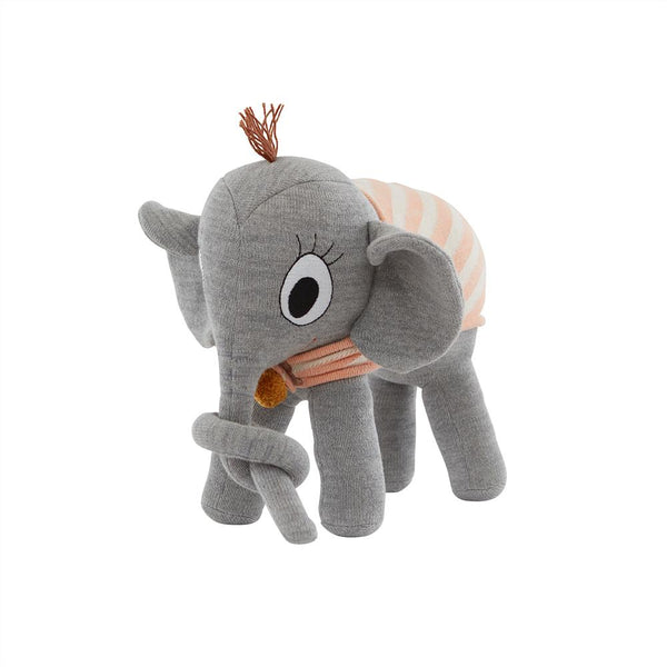 OYOY Living Design - OYOY MINI Ramboline Elephant Soft Toys 203 Grey ?id=17048364875856