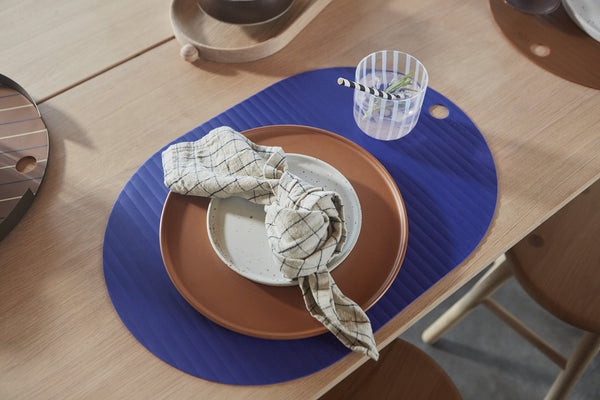 OYOY Living Design - OYOY LIVING Ribbo Placemat - Pack of Placemat 609 Optic Blue ?id=17048346329168