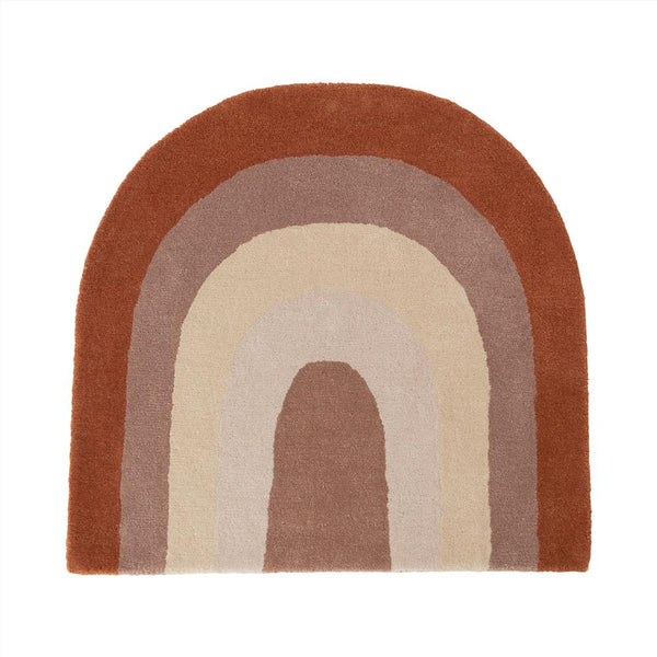 OYOY Living Design - OYOY MINI Rug Rainbow Rug 309 Choko