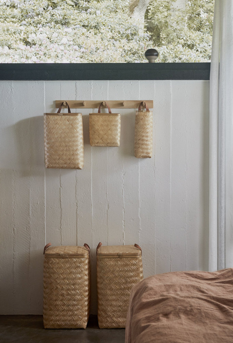 OYOY Living Design - OYOY LIVING Sporta Wall Basket - Long Accessories - Living 901 Nature