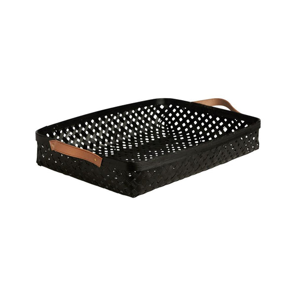 OYOY Living Design - OYOY LIVING Sporta Basket - Large Bread Basket 206 Black