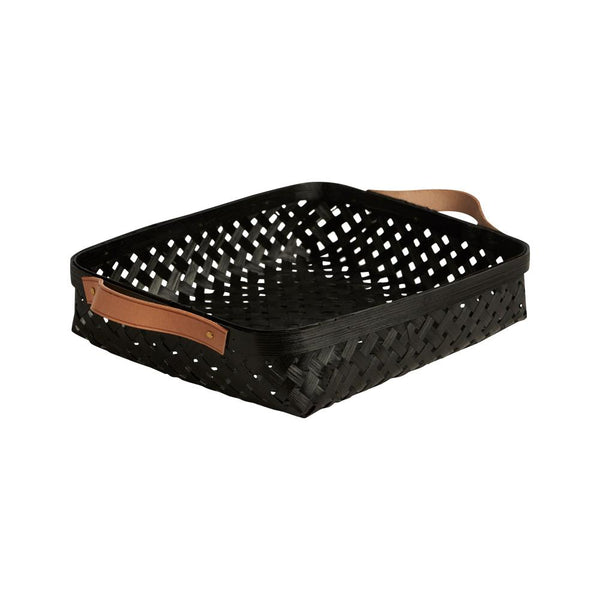 OYOY Living Design - OYOY LIVING Sporta Basket - Small Bread Basket 206 Black