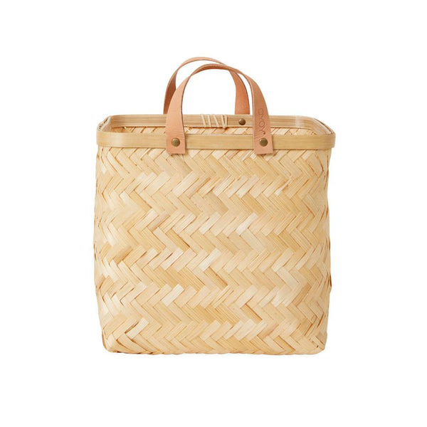 OYOY Living Design - OYOY LIVING Sporta Square Basket Accessories - Living 901 Nature