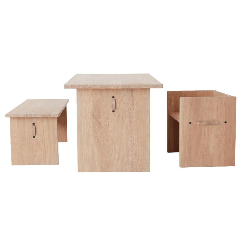 OYOY Living Design - OYOY MINI Stool Arca for kids Stool 901 Nature ?id=16031305465936