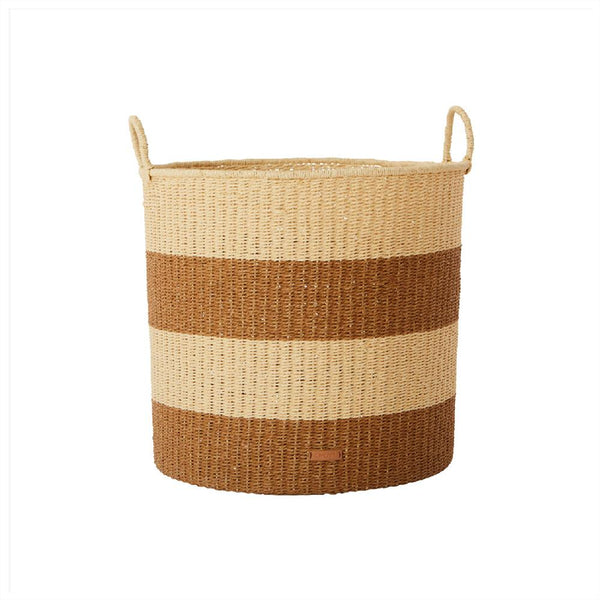 OYOY LIVING Storage Baskets Cylinder - Large Storage 307 Caramel ?id=28096528613456