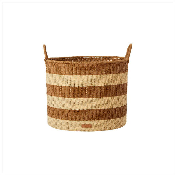 OYOY LIVING Storage Baskets Cylinder - Medium Storage 307 Caramel ?id=28096534675536