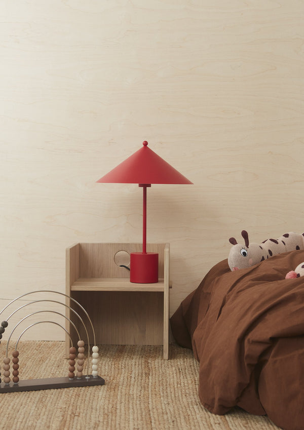 OYOY Living Design - OYOY LIVING Table Lamp Kasa - Cherry Red Table Lamp 405 Cherry Red