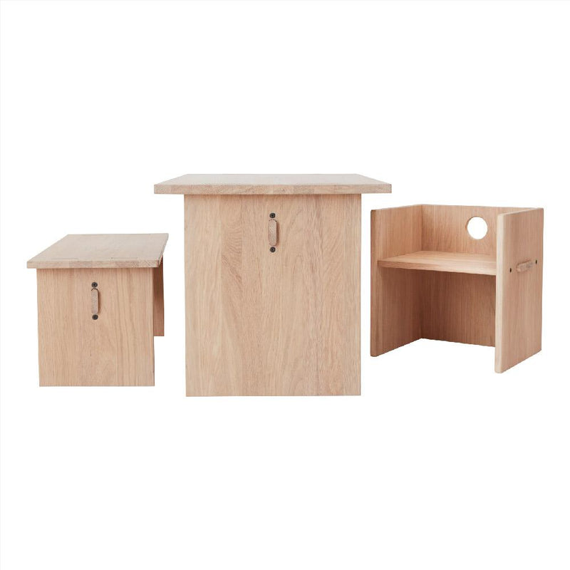 OYOY Living Design - OYOY MINI Table Arca for Kids Table 901 Nature
