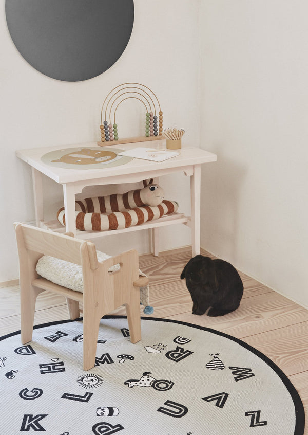 OYOY Living Design - OYOY MINI The Alphabet Rug Rug 202 Light Grey