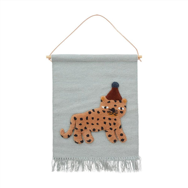 OYOY Living Design - OYOY MINI Wallhanger Tæppe Wallhanger 608 Dusty Blue ?id=16169683877968