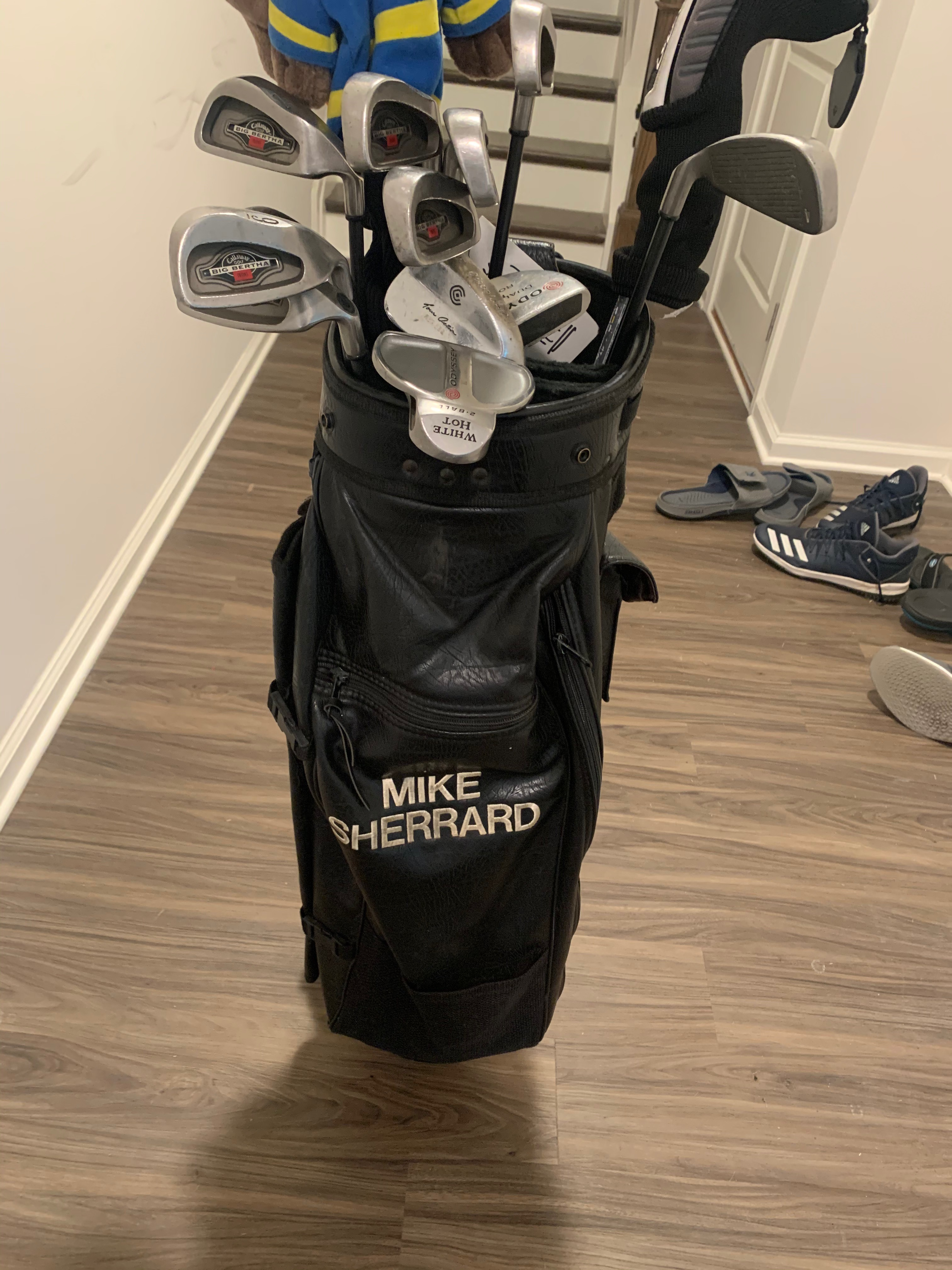 Mike Sherrard's Golf Set