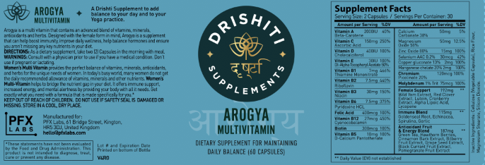 आरोग्य Arogya Multivitamin