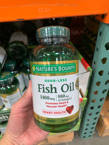 NATURE'S BOUNTY  Fish Oil  130錠