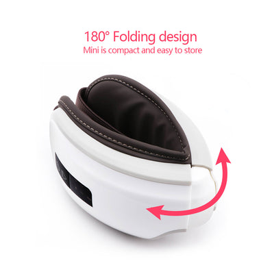 Heated Eye Massager with Guided Meditation Therapy