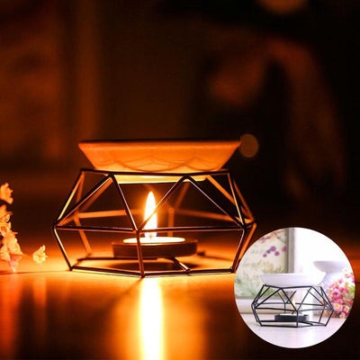 Stainless Steel Aromatherapy Oil Lamp