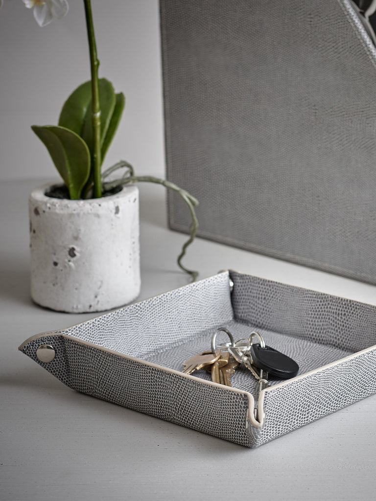 Grey Snake Trinket Tray Trays BRISSI