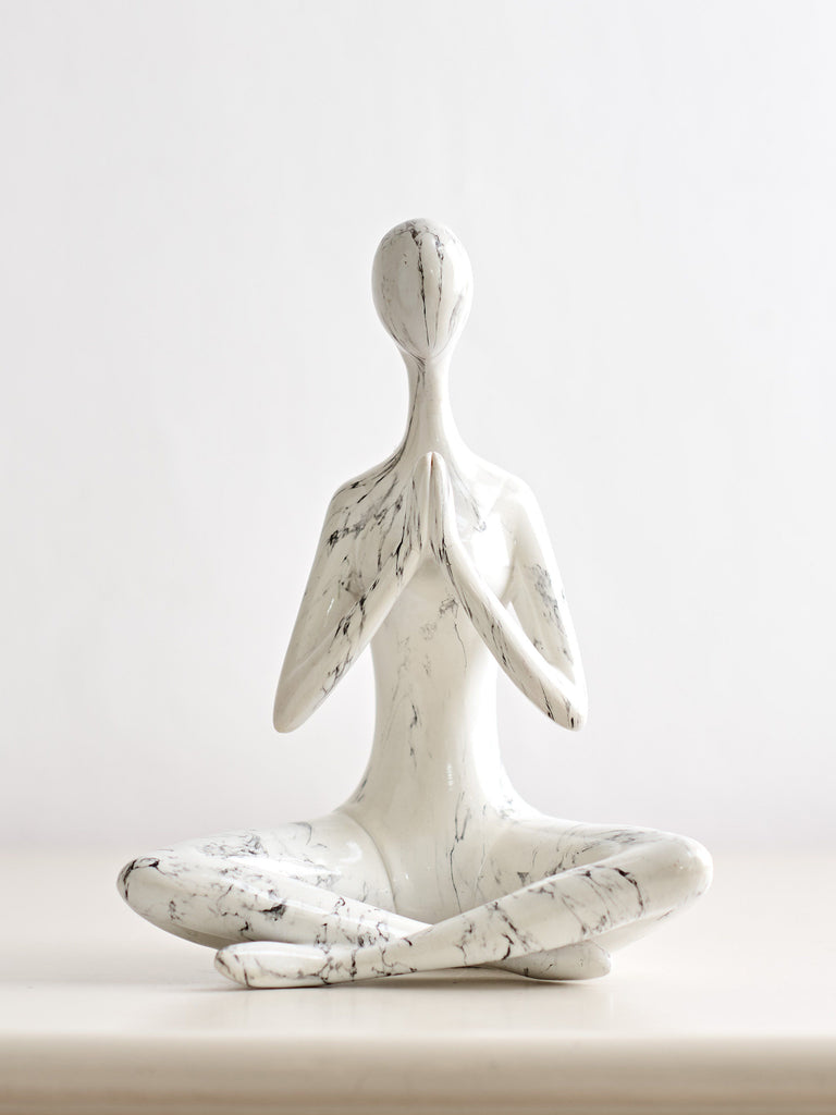 Meditation Pose Figure Ornaments BRISSI
