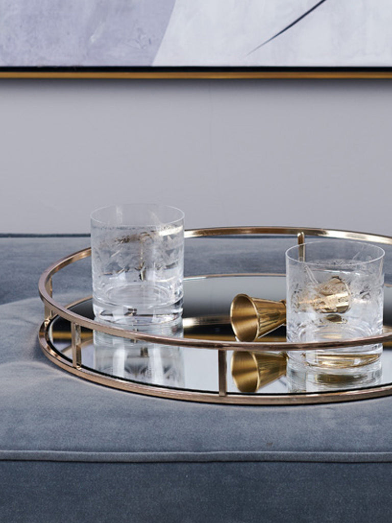 Martha Gold Tray Trays BRISSI