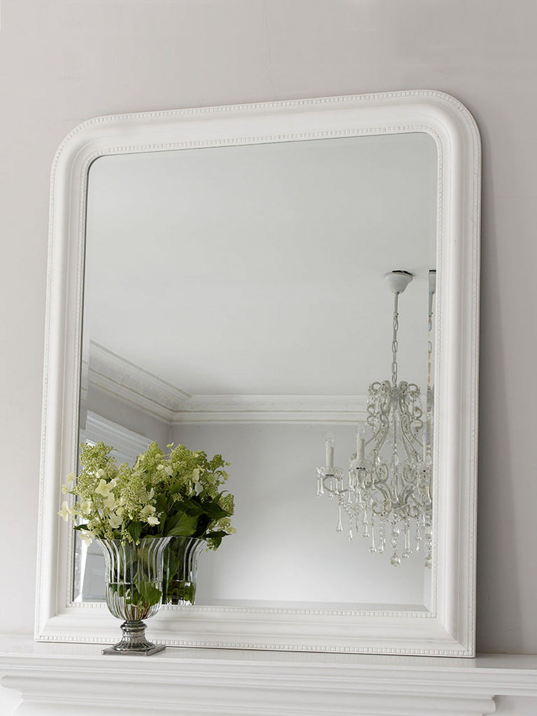 Hampshire White Mirror - Large MIRRORS BRISSI