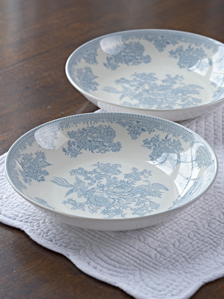 Blue Asiatic Pheasants Pasta Bowl Crockery BRISSI