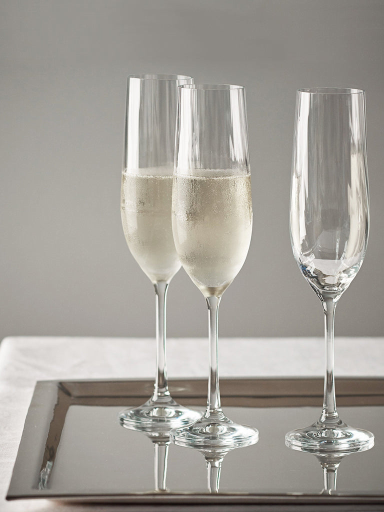Sophia Crystal Flute - Set of 4 Glassware BRISSI