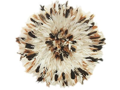 Juju Feather Hat Partridge, Ivory, Partridge- 80cm | 31.5""